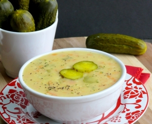 Dill-Pickle-Soup